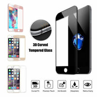 3D Full Cover Tempered Glass 3D Curved Screen Protector For iPhone 6 7 8 Plus X