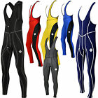 SHADOW CYCLING BIB TIGHTS Mens Winter Thermal Cycle Padded baselayer compression