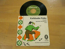"7"" Single Ernst Jäger Rossbacher Duo Karlsbader Polka Vinyl ODEON O 21 469"