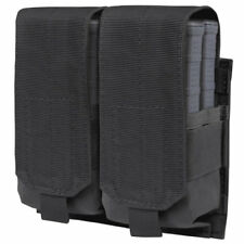 Condor BLACK Gen II Double M14 Mag Pouch MOLLE hold 4x 7.62 .308 Rifle Magazines
