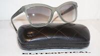 CHANEL Sunglasses New Green Translucent/Grey Gradient 5330-A C.1531/53 56 17 140