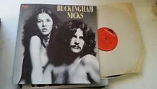 Buckingham & Nicks Lp polydor 1973 fleetwood mac stevie rare pd5058 gatefl vinyl