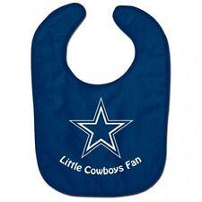 NFL Dallas Cowboys Baby Infant ALL PRO BIB LITTLE FAN Blue