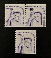 US Stamps, Scott #1617 VF/XF M/NH 1977 Coil Pr & single Contemplation of Justice