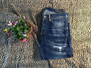 Dondup Jeans, blau, Modell Ritchie Skinny Fit, Größe 31