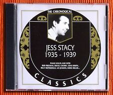 JESS STACY  1935 -1939  CD  The Classics Chronological Series 795  Like New