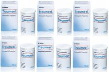 6 x HEEL Traumeel natural anti-inflammatory 6x50 tablets pain bruises arthritis