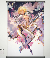 Anime Fate/Grand Order saber Home Decor POSTER WALL Scroll 40*60cm