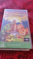 THE LAND BEFORE TIME 2 - THE GREAT VALLEY ADVENTURE - VHS VIDEO