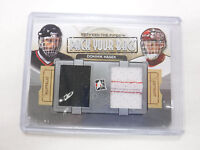 2014 In the Game Pack Your Bags Dominik Hasek Game-Used Card jh1