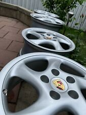 PORSCHE 911 993 vuoti RAGGI CERCHI 7,5 + 10 x 18 Turbo 1i Hollow Spoke Wheels S