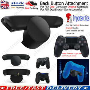 Back Rear Button Attachment Extension Key Replacement for SONY PS4 Gamepad UK