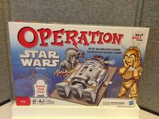 OPERATION STAR WARS EDITION R2-D2 2011 BOARD GAME W/T DOUBLE FUNATOMY PIECES