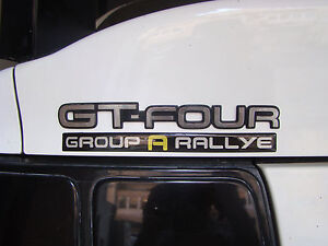 "TOYOTA CELICA ST205 ST185 ST165 GT-FOUR GT4 ""Group A Rallye"" 3D sticker"