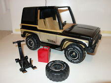 70's Vtg TONKA MR-970 RARE Mighty Jeep Bronco SPARE TIRE, JACK, & GAS CAN