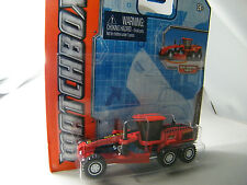 Matchbox Real Working Rig RW020-2: Road Grader rot - gesuchtes Modell OVP