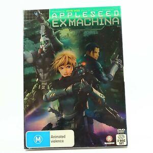 Appleseed Ex Machina Shinji Aramaki John Woo Ai Kobayashi (DVD, 2008) GC