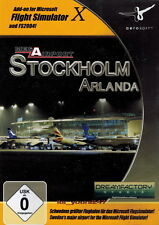 Mega Airport Stockholm Flight Simulator X & 2004 AddOn Flugsimulator | PC