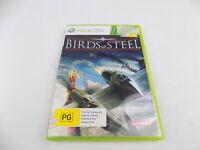 Mint Disc Xbox 360 Birds of Steel Free Postage