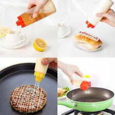 300ml de 4 agujeros aderezo de ensalada Botella Squeeze condimento Botella herramienta de cocina de casa