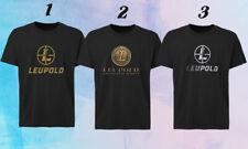 New Leupold Scopes Binoculars Military Hunting Sport Optics Black T Shirt S 3xl