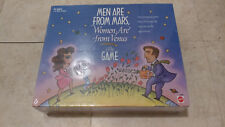 Mattel Men Are From Mars Women Are From Venus Board Game 1998 New NOS