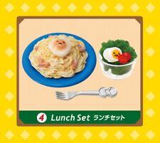 S2 Re Ment Sanrio Gudetama Cafe Mini Restaurant Series Lunch Set Figure Egg Yolk