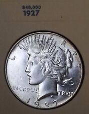 BLAZZING GEM 1927 PEACE DOLLAR MINT STATE