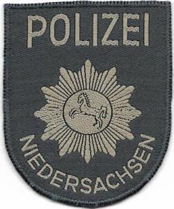 Polizei NIEDERSACHSEN  Patch Jacke 60er Jahre HANNOVER  Stoff Abzeichen Aufnäher