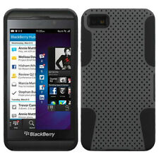 BlackBerry Z10 Case Hybrid Silicone Hard Mesh 2-Piece Cover