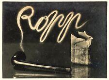 Ropp - Une bonne pipe - Epreuve argentique d'époque 1930 -