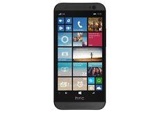 HTC One M8 6995L GSM 4G LTE Verizon & GSM Unlocked Grey 32gb Windows Smartphone