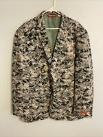 Shinesty Suit Jacket Sport Coat Military Mens 54