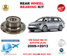FOR VW GOLF Mk VI REAR WHEEL BEARING 2009->2013 AJ5 ESTATE LEFT or RIGHT SIDE