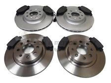 FIAT GRANDE PUNTO 1.4 1.6 1.9 FRONT & REAR BRAKE DISCS AND PADS (CHECK SIZE)
