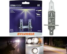 Sylvania Xtra Vision Two Bulbs H1 55W Head Light Low Beam Upgrade Replacement OE