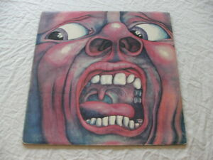 KING CRIMSON IN THE COURT OF THE CRIMSON KING 1970 UK PRESS E.J. DAY COVER A3/B3
