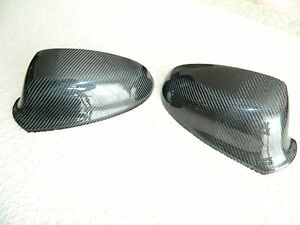 Carbon Mirror Wing Mirror Cover Replacements Fits Opel Astra J OPC