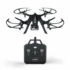 Force1 F100 GoPro Camera RC Quadcopter Drone - Brushless Motors - 12min Flight