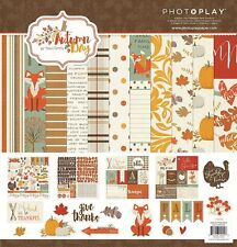 """PHOTO PLAY PAPER """"AUTUMN DAY"""" 12X12 PAPER FALL AUTUMN SCRAPJACK'S PLACE"""