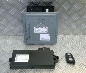 Engine ECU Kit Key CAS Module 120i N43B20A 7580279 BMW E87 LCI 1 series 08-2011