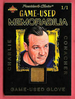 2020 Charlie Conacher President's Choice Solitaire 1/1 Glove - Maple Leafs