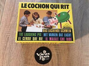 LE COCHON QUI RIT jeu De Societe Michel 100% COMPLET