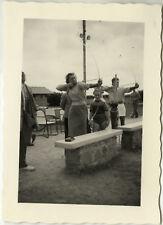 PHOTO ANCIENNE - VINTAGE SNAPSHOT - SPORT TIR À L'ARC LOISIRS - ARCHERY 1953 4