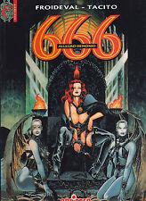 666 Splitter Band 2 Allegro Demonio Froideval Tacito Softcover Z 0-1