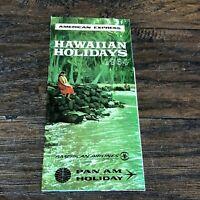 Vintage 1964 Hawaii Travel Brochure Hawaiian Holidays Tourist Guide  Pan Am