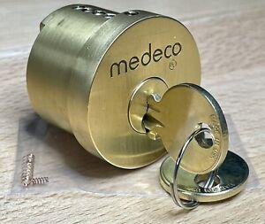 MEDECO ORIGINAL High Security 6-Pin Maxum DB Cylinder w/ 2 Air Keys - Locksport