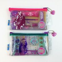 Hannah Montana Miley Cyrus Girls Manicure & Pedicure Kit LOT Disney HM New