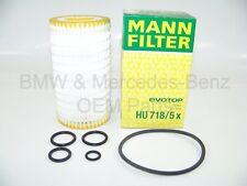 Mercedes-Benz Engine Oil Filter Fleece Original Mann Filter HU718/5X (10pcs)