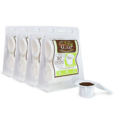 200-Ct EZ-Cup Paper Coffee Filters for Reusable Keurig K-Mini Plus Duo K-Cup